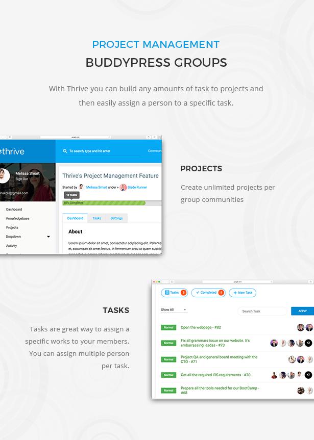 ThriveProject Management
